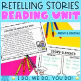 Retelling Stories | Recount & Retell Stories Reading Unit | Digital & Printable