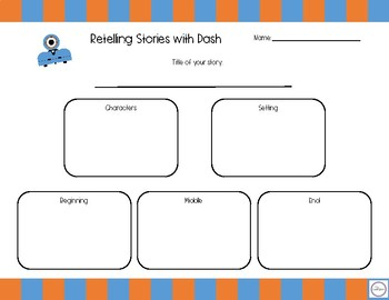 Retelling Stories with Dash Robot