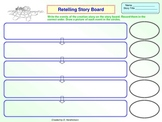 Retelling Story Board For Native American Creation Story