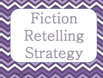 Retelling-Fiction Strategy Sheet