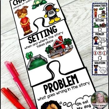 Retelling Stories Bookmarks FREE