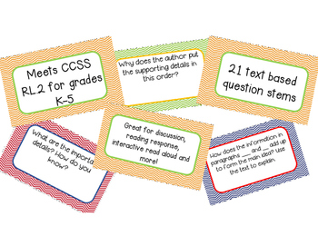 Retelling Text Based Question Cards for Any Text