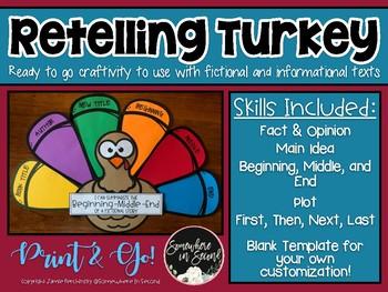 Retelling Turkey Craftivity