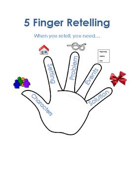 Retelling Visual - 5 Finger Retelling