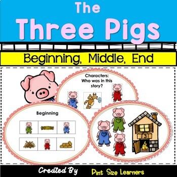 The Three Little Pigs | Retelling | Fairy Tales