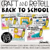 Retelling a Story, BACK TO SCHOOL Bundle (September) (Back
