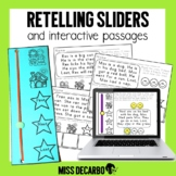 Retelling Sliders Reading Passages