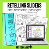 Retelling Sliders Digital Distance Learning