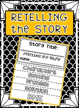 Retelling the Story - FLIPBOOK STYLE!