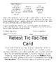 Retest Tic-Tac-Toe Packet