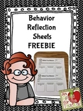 Rethink Your Behavior Freebie