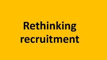 Rethinking recruitment