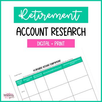 Retirement Account Comparisons