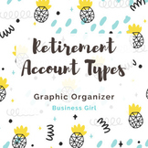 Retirement Account Types Graphic Organizer