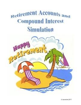 Retirement Accounts and Compound Interest Simulation