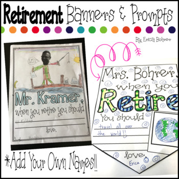 Retirement Banners and Prompts