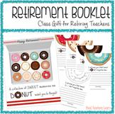 Retirement Booklet Class Gift for Retiring Teachers {Donut