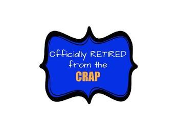 Retirement Party Decoration