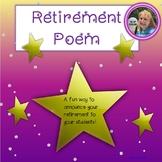 Retirement Poem