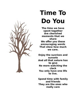 Retirement Poem *EDITABLE*