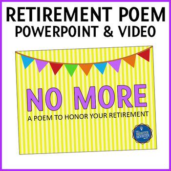 Retirement Poem PPT