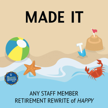 Retirement Song Lyrics for Happy
