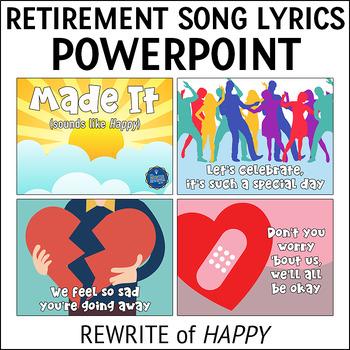 Retirement Song Lyrics PPT