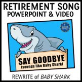 Retirement Song Lyrics PowerPoints and Video