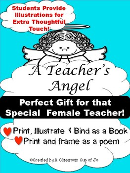 Retirement/Special Teacher Booklet Poem