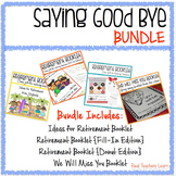 Retirement + We Will Miss You Gift Booklets {BUNDLE}