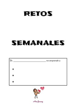 Retos semanales - Weekly challenges in Spanish