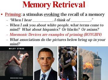Retrieval of Memory PowerPoint
