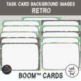 Retro Backgrounds for digital task cards - Boom Cards™