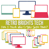 Retro Brights Tech Set