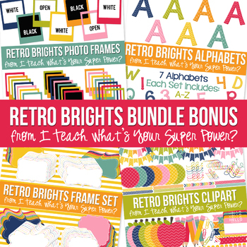 Retro Brights Ultimate Bundle