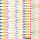 Retro Brights on White Digital Paper Set