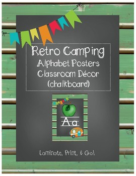 Retro Camping Theme - Classroom decor