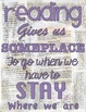 Retro Chic Reading Gives Us a Someplace to Go Quote