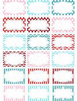 Retro Doodle Frames and Labels Digital Borders Clipart by Poppydreamz