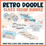 Retro Doodle Theme Classroom — GROWING BUNDLE!