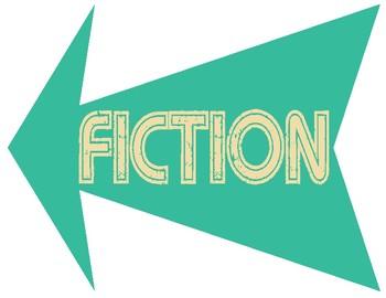 Retro Fiction Arrow Sign Set