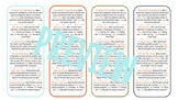 Retro Fiction Notice and Note Bookmarks