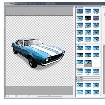 Photoshop CS6 Tutorial - Retro Car Poster