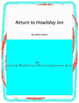 Return to Howliday Literature and Grammar Unit