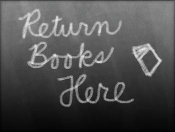 Return Book Poster