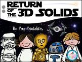 Return of the 3D Solids {No Prep - 3D Geometry Unit}