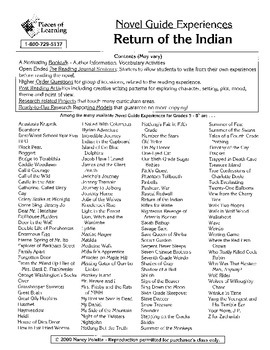 Return of the Indian Literature Guide