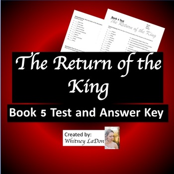 Return of the King: Book 5 Test