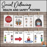Return to School - Social Distancing Expectations Posters