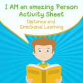 Returning to School- I Am An Amazing Person Activity Sheet  (SEL)